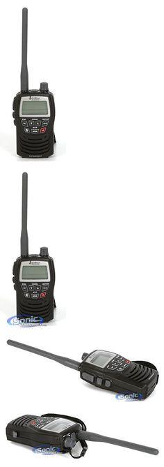 Walkie Talkies Two-Way Radios: Cobra Mr-Hh125 Waterproof Vhf Marine 2-Way Radio Walkie-Talkie -> BUY IT NOW ONLY: $59.95 on eBay!