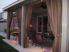Sojag POMPANO Mocha 10Feetx10Feet Wall Shelter Polycarbonate Roof Alumin