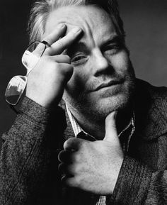 Philip Seymour Hoffman by Nigel Parry