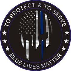This Thin Blue Line Warrior Reflective Decal makes a great gift for all types of law enforcement officers! It can be placed on cell phones, license plates, boats, cars, etc.