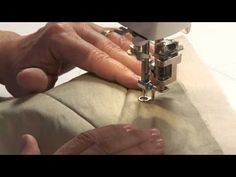 Machine Quilting: How to Begin and End Quilt Lines With Cindy Needham - YouTube