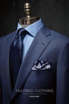 Paul Stuart – Fine Men's & Women's clothing – [pin_pinter_full_name] Paul Stuart – Fine Men's & Women's clothing Paul Stuart – Fine Men's &a… Modern Mens Fashion, Mens Fashion Suits, Mens Suits, Gentleman Mode, Gentleman Style, Sharp Dressed Man, Well Dressed Men, Beard Suit, Mode Costume