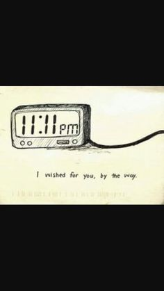 ♡Love♡ i always tell other to make a wish 11:11