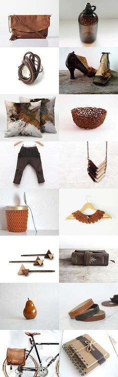 From brown to rust by Kamila on Etsy--Pinned with TreasuryPin.com