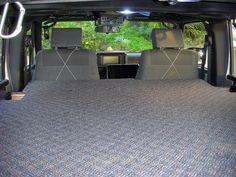 Elevated sleeping/stowage platform for JKU Jeep Camping Trailer, Jeep Tent, Jeep Wrangler Camper, Jeep Jk, Suv Trunk Organization, Jeep Mods, Jeep Life, My Ride, Platform