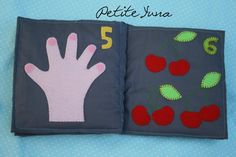amaury4 Quiet Books, Creative Crafts, Fabrics, Hairstyle, Kid