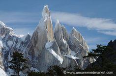 Jagged Peaks - Cerro Torre, El Chalten, Argentina by uncorneredmarket, via Flickr