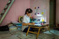 """Read about @Nicholas Kristof's """"Graduate of the Year"""" nominee -- an inspiring young woman in Vietnam who demonstrate the transformative power of girls' education -- for herself and her community. #roomtoread #girlseducation"""