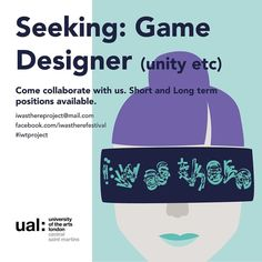 We're recruiting! Get involved with our innovative creative venture. Got skills in Unity3D C4D or any other virtual and game design? This could be the opportunity for you! Long and short term positions available. We're specifically looking for students we can give fresh opportunities to but if you're freelance and interested in trying something new then hit us up anyway!  We've got to be quite under wraps about our ideas but upon application we can fill you on the project. If you're…