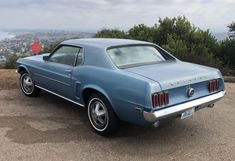 Bid for the chance to own a 1969 Ford Mustang at auction with Bring a Trailer, the home of the best vintage and classic cars online. Ford Mustang Coupe, Classic Mustang, Engine Rebuild, Steel Wheels, Classic Cars Online, Car Photos, Automatic Transmission, Cool Cars, Ford Mustang