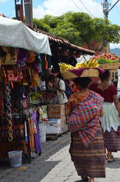 Market in Antigua, Guatemala- I get to go here!!! :)