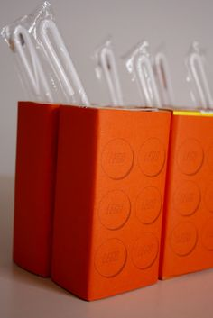delia creates: Lego Juice Box Bricks