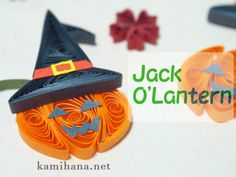 Ever hear of paper quilling? Turn those swirls into bats, pumpkins . Paper Art, Paper Crafts, Diy Crafts, Quilling Designs, Quilling Ideas, Quilling Christmas, Quilling Tutorial, Craft Day, Halloween Jack