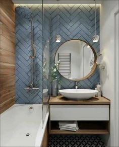 Beautiful master bathroom decor tips. Modern Farmhouse, Rustic Modern, Classic, light and airy master bathroom design a few ideas. Bathroom makeover tips and bathroom remodel suggestions. Diy Bathroom, Bathroom Interior Design, Trendy Bathroom, Bathroom Accents, Modern Bathroom Design, Bathroom Layout, Bathroom Mirror, Amazing Bathrooms, Bathroom Decor