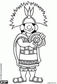 Resultado De Imagem Para Personagem Inca Para Colorir Com Imagens
