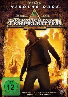 Das Vermächtnis der Tempelritter  2004 USA      IMDB Rating 6,8 (143.218)  Darsteller: Nicolas Cage, Diane Kruger, Justin Bartha, Sean Bean, Jon Voight,  Genre: Action, Adventure, Mystery,  FSK: 12