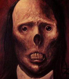 "ex0skeletal: "" ""Creepy Paintings by Zack Dunn "" """