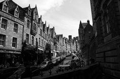 #edinburgh #scotland #black #white #city #capital #silhouette #street #old #town White City, Edinburgh Scotland, Frames, Black White, Silhouette, In This Moment, Explore, Street, Black And White