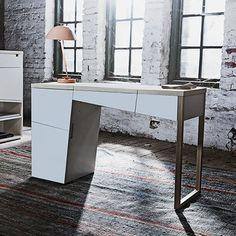 interl bke schreibtisch mell sektret r mit 1 schubkasten. Black Bedroom Furniture Sets. Home Design Ideas