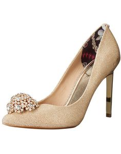 04355a2f9 Ted Baker Peetch Gold Dress Pump. Ted Baker WomensBridal Party ShoesWedding  ShoesPump ShoesShoes HeelsHigh ...