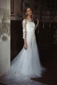 Alberta Ferreti – Vestidos de Noivas 2017 #noiva #vestidodenoiva #AlbertaFerreti #weddingdress #weddinggown #bride #bridal #2017 #noivinhasdeluxo