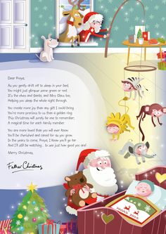 santas letter prek pinterest santa christmas holidays and