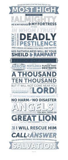 Psalm 91 @Andrea Scarrow