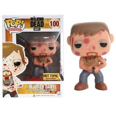 Funko Pop! Injured Daryl Blood Splattered Exclusive, Hot Topic Exclusive, The Walking Dead, TWD, AMC, Séries