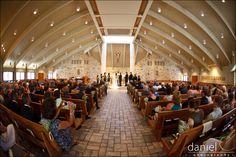 That's our beautiful church, St Thomas More, Austin, TX:) Marissa-Danny-Lakeway_190