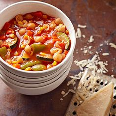 Italian Vegetable and Pasta Soup From Better Homes and Gardens, ideas and improvement projects for your home and garden plus recipes and entertaining ideas.