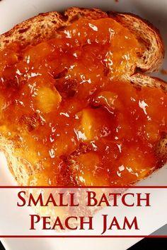 Freezer Jam Recipes, Jelly Recipes, Canning Recipes, Fruit Recipes, Kitchen Recipes, Summer Recipes, Canning Peach Pie Filling, Peach Preserves Recipe
