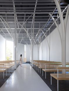 """Forest Chapel"" in Gunma, Japan by HIRONAKA OGAWA & ASSOCIATES"
