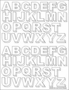 When discussing multi-sided objects or forms and 3-d drawing techniques, younger students are interested in drawing 3-dimensional letters but have little experience. They find it easier to take what they know about basic forms and apply that to lettering if they have some examples to look at.