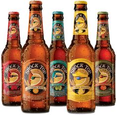 Shock Top Beer..all flaves....raspberry..apple lemon peach...lots of good choices...I love Apple <3