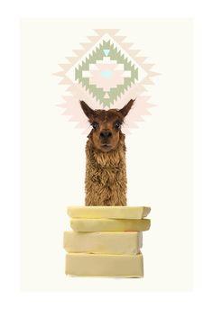 Llama + butter = ?