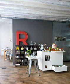 kleine Küche einrichten Ideen Kochinsel Boffi