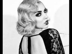 Authentic Finger Wave Hair Tutorial (Traditional Wet Set) Roxy Heart - YouTube