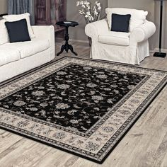 Dynasty Collection Floor Rugs / Carpet in 200cm x 300cm