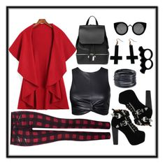"""""""Untitled #16"""" by ina-kis ❤ liked on Polyvore featuring Dex, Jeffrey Campbell, COSTUME NATIONAL, Chicnova Fashion, Quay, ABS by Allen Schwartz and L'Artisan Créateur"""
