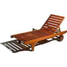Strathwood Basics Hardwood Chaise Lounge 2405