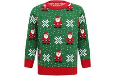 The Best Children's Christmas Jumpers UK 2021 Christmas Jumpers, Santa Christmas, Christmas Sweaters, Childrens Christmas, Urban Classics, Pullover, Lady, Red Green, Street Wear
