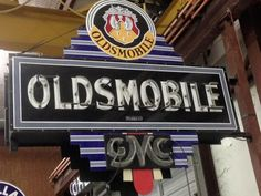 Rare early Oldsmobile/GMC neon sign