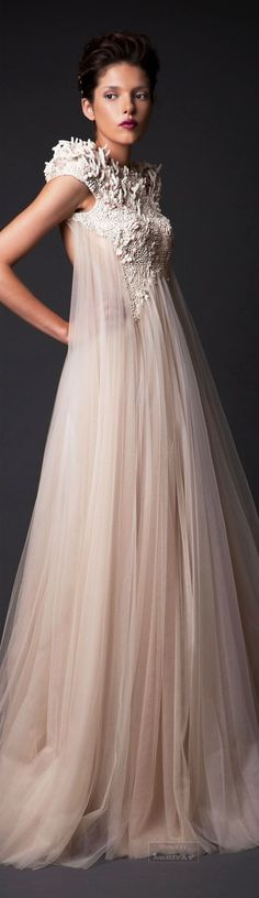 Luxury and opulence...Krikor Jabotian Fall-winter 2014-2015. jaglady