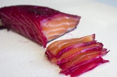 How to Cook Fish Without Actually 'Cooking' It « Food Hacks -Beet Salt Cure