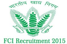 FCI Recruitment 2015 :- http://privatejobshub.blogspot.in/2012/08/fci-recruitment-2012-assistant-grade.html  Food Corporation of India has unfolded a notification as FCI Recruitment 2015 for filling up 349 posts of Management Trainee and Manager.