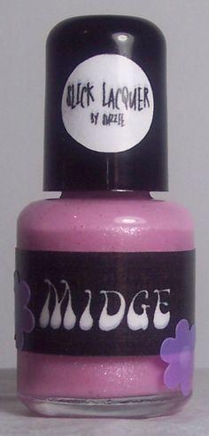 Midge Nail Polish MINI LIMITED by SlickLacquer on Etsy, $5.50 Indie Nail Polish