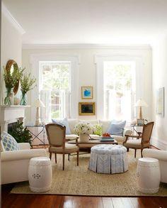 Idée décoration salon de la peinture murale aux meubles- 20 propositions chic