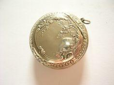 Top Rarität Antikes Prachtstück Barocke Dose Aus Silber Uhrengehäuse   eBay