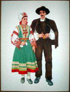 Croatia Folk Costume - Peroj Istria