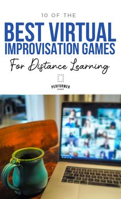 Theater students love to play improv games and scenes, but you can't do improv with distance learning, right? Here's a handy list of ten improv games that your class can play virtually. Theatre Games, Teaching Theatre, Drama Teaching, Children's Theatre, Teaching Art, Drama Warm Up Games, Drama Games, Drama Education, Drama Class